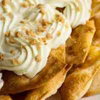 cheesecake cinnamon sugar nachos