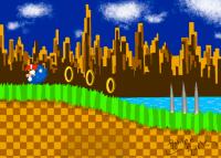 Green Hill Zone- Sonic The Hedgehog