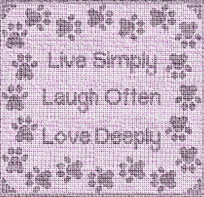 Digital Sample of Live Laugh Love Paws