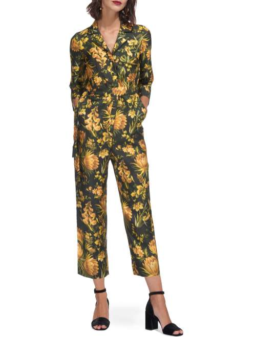 Whistles Silk Jumpsuit