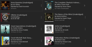 Audiobooks November