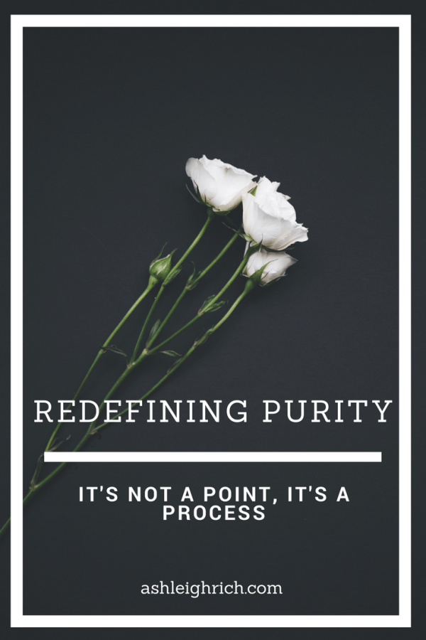 What does it mean to live a pure Christian life? This blog post, a first in a series, deals with how we should (and shouldn't) define Christian purity.