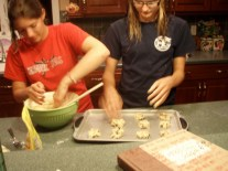 That time we made cookies