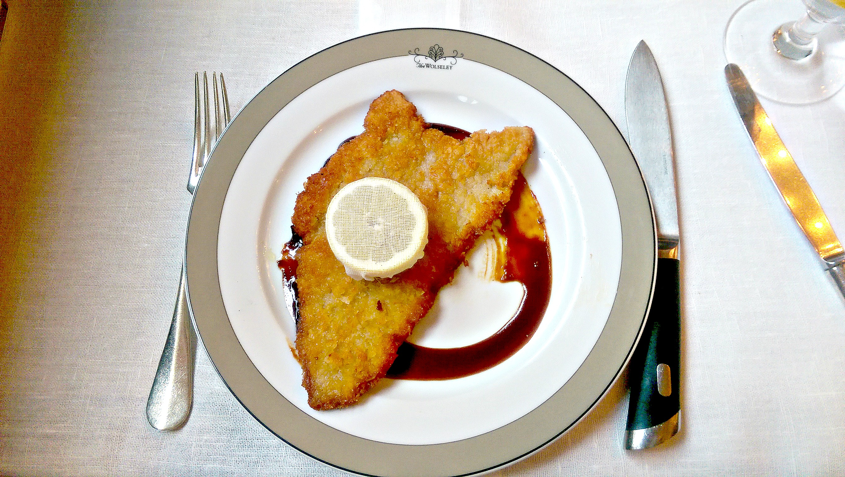 The Wolseley schnitzel