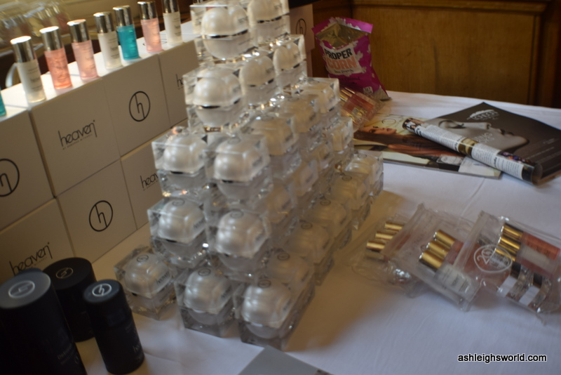 pictures from the event, Shoes, bloggers, skincare and cupcakess