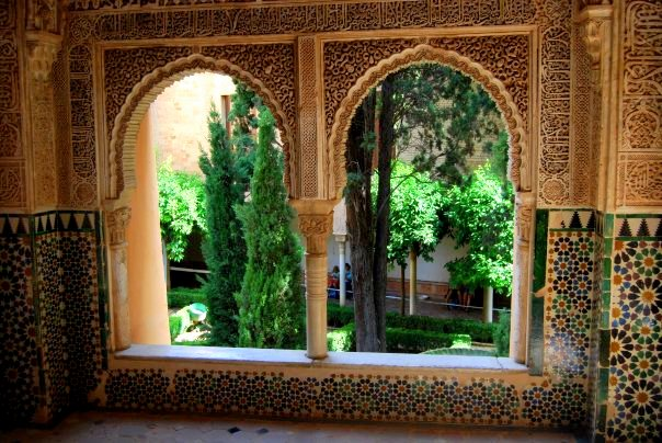 Alhambra Palace. Grenada, Spain