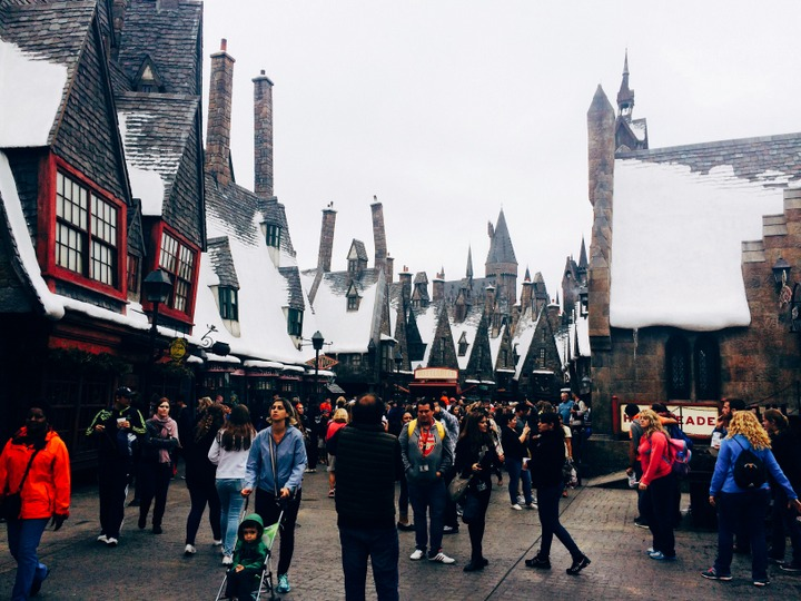 Nerding Out at Harry Potter World
