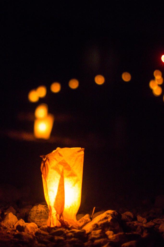 Lanterns Lighting the Way to Petra