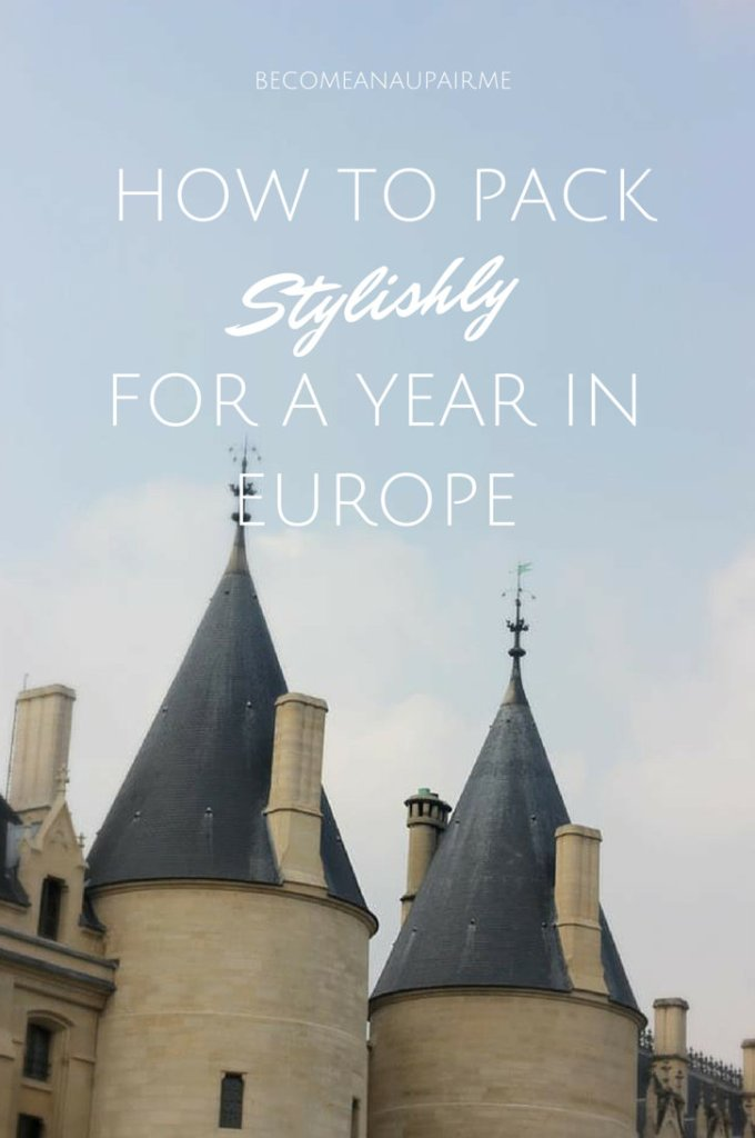 Expert Tips: How to Pack Stylishly for a Year in Europe!