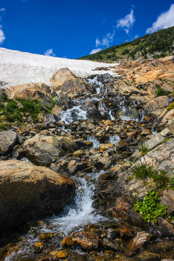 St Marys Glacier Hike Colorado