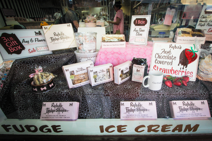 Delicious Fudge on Mackinac Island