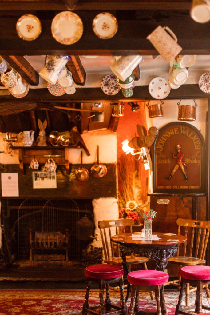 An adorable pub in the Lake District.