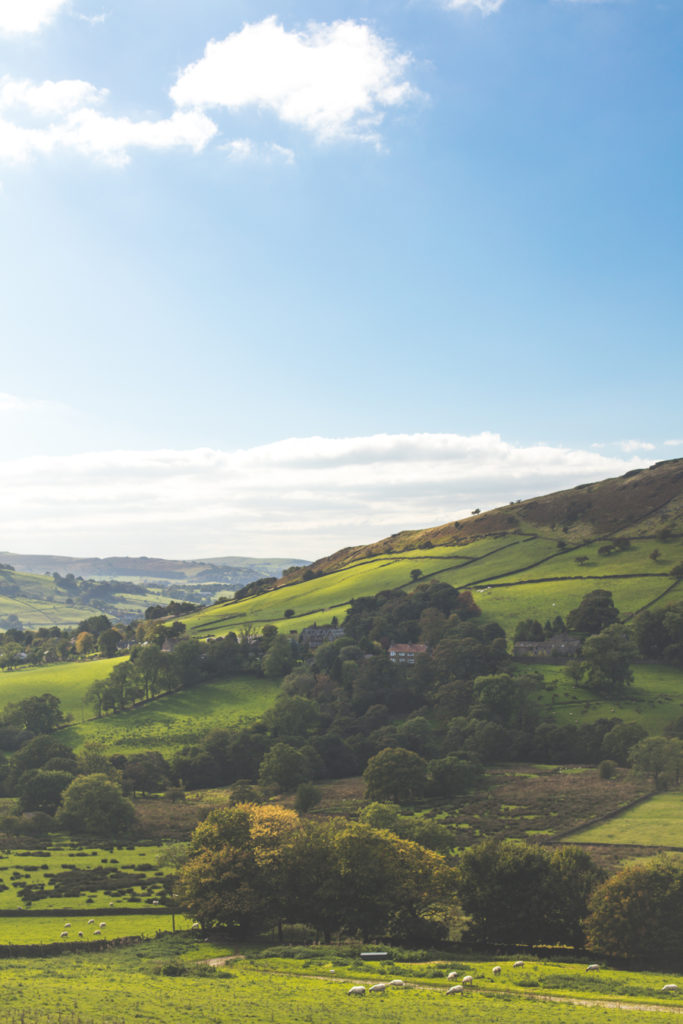 England's beautiful Peak District