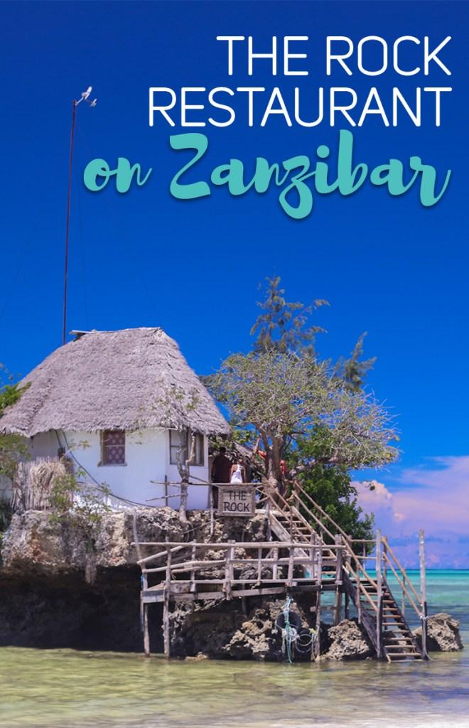 The Rock Restaurant on Zanzibar