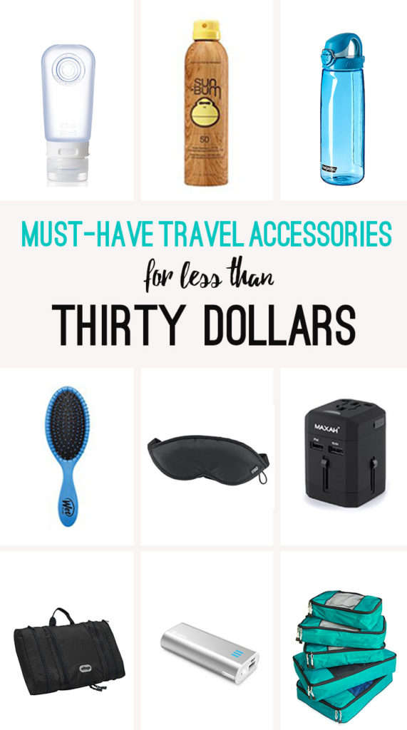 Must-have travel accessories for less than $30!