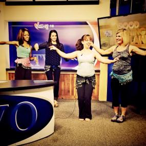 Belly Dancing on air!