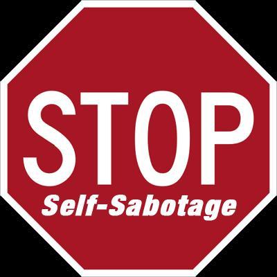 Image result for self sabotage