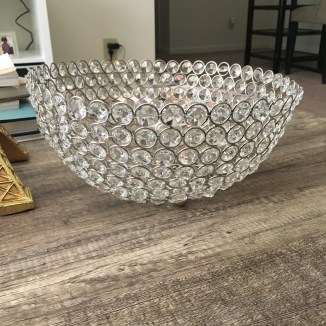 I bought this beautiful bowl at Ross as well. I plan to fill it with flower balls that i am going to DIY on my channel and blog!