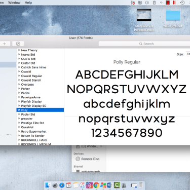 Installing Fonts for Articulate Storyline on a Mac
