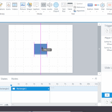 Finding the Centre in Articulate Storyline 3