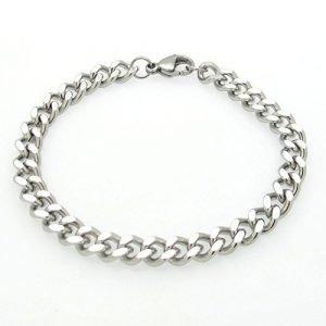 Chain link bracelet men's gift