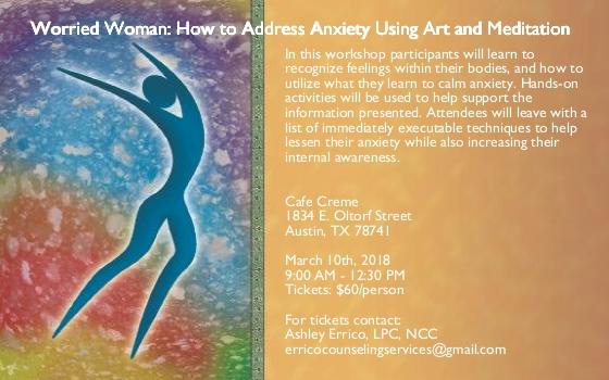 Worried Woman Workshop