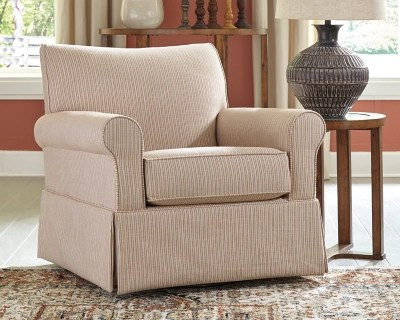 Almanza Swivel Glider Accent Chair Ashley Furniture Homestore