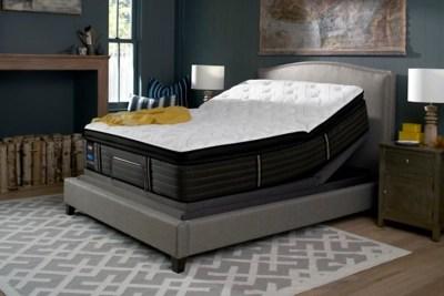 Sealy Grand Mesa Cushion Firm Pillowtop Queen Mattress