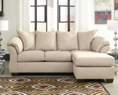 darcy sofa chaise stone large