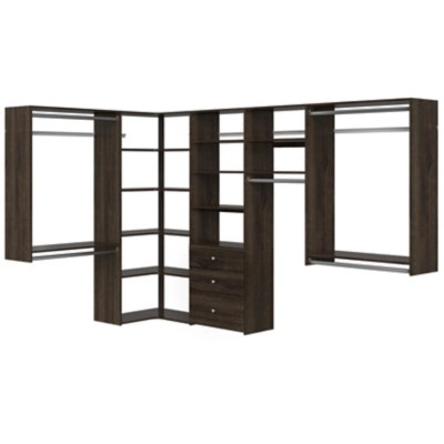 easyfit closet storage solutions 66 w