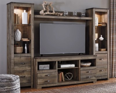 Trinell 4 Piece Entertainment Center Ashley Furniture HomeStore