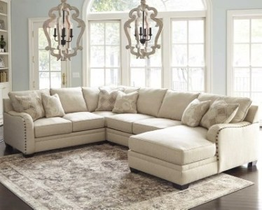 Luxora 4 Piece Sectional   Ashley Furniture HomeStore Luxora 4 Piece Sectional    large