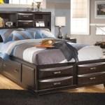 Kira Full Storage Bed With 7 Drawers Ashley Furniture Homestore