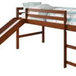 Kids Twin Low Loft Bed With Slide Ashley Furniture Homestore