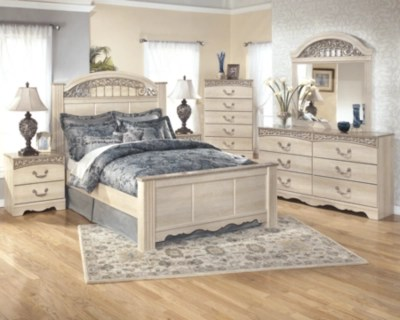 Catalina Queen Poster Bed Ashley Furniture Homestore