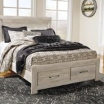 Bellaby Queen Platform Bed With 2 Storage Drawers Ashley Furniture Homestore