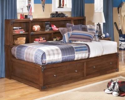 Delburne Twin Bookcase Bed Ashley Furniture HomeStore