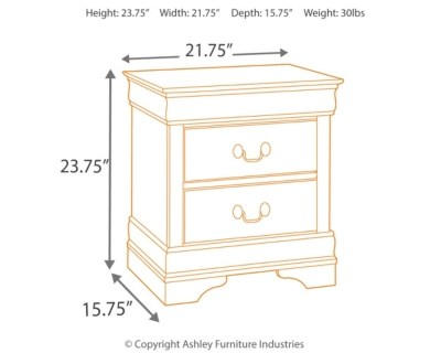 Alisdair Nightstand Ashley Furniture Homestore