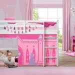 Delta Children Disney Princess Loft Bed Tent Curtain Set For Low Twin Loft Bed Bed Sold Separately Ashley Furniture Homestore