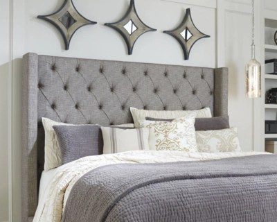 Sorinella Queen Upholstered Headboard