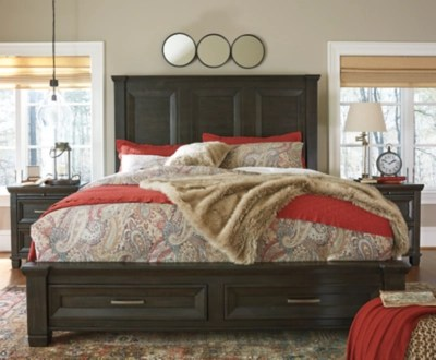 Townser King Panel Bed With Storage Ashley Furniture