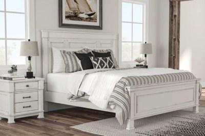 Jennily King Panel Bed Ashley Furniture Homestore