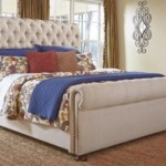 Windville Queen Upholstered Sleigh Bed Ashley Furniture Homestore