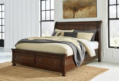 Porter Queen Sleigh Bed Ashley Furniture HomeStore
