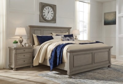 Lettner Queen Panel Bed Ashley Furniture Homestore