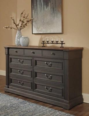 Tyler Creek Dresser And Mirror Ashley Furniture Homestore