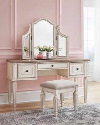 makeup vanities ashley furniture