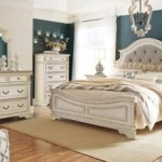 Realyn Queen Upholstered Panel Bed Ashley Furniture Homestore