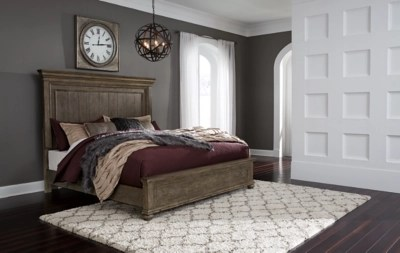 Johnelle Queen Panel Bed Ashley Furniture Homestore