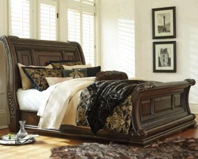 Valraven King Sleigh Bed Ashley Furniture HomeStore